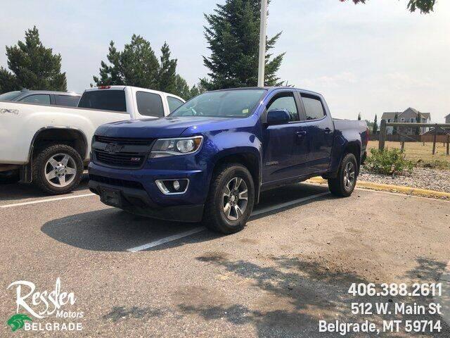2016 Chevrolet Colorado for sale at Danhof Motors in Manhattan MT