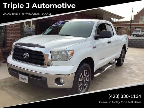 2008 Toyota Tundra for sale at Triple J Automotive in Erwin TN