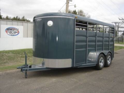 """2021 6'8"""" X 16 CALICO STOCK for sale at Midwest Trailer Sales & Service in Agra KS"""
