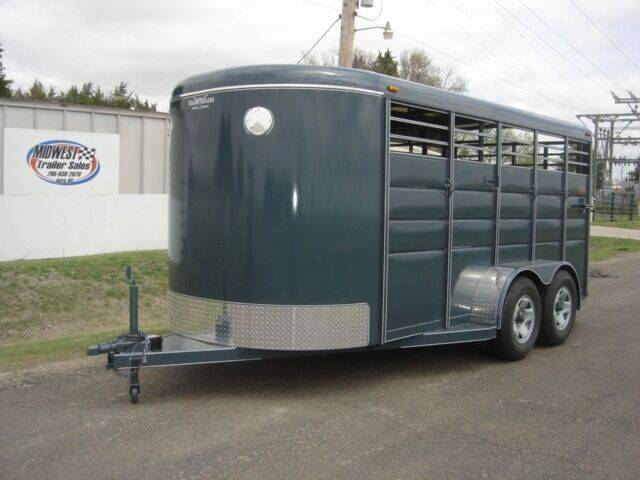 """2021 6'8"""" X 16 FT CALICO STOCK for sale at Midwest Trailer Sales & Service in Agra KS"""