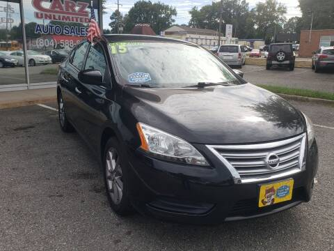 2015 Nissan Sentra for sale at Carz Unlimited in Richmond VA