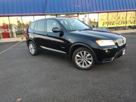 2014 BMW X3 for sale at CITY SELECT MOTORS in Galesburg IL