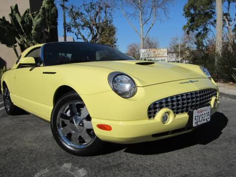 2002 Ford Thunderbird for sale at ORANGE COUNTY AUTO WHOLESALE in Irvine CA