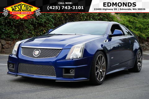 2012 Cadillac CTS-V for sale at West Coast Auto Works in Edmonds WA
