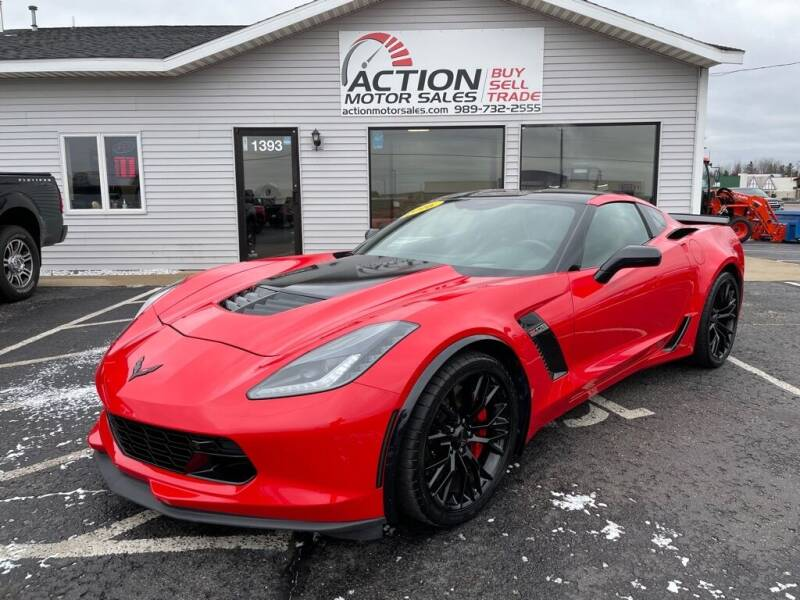 2016 Chevrolet Corvette for sale at Action Motor Sales in Gaylord MI