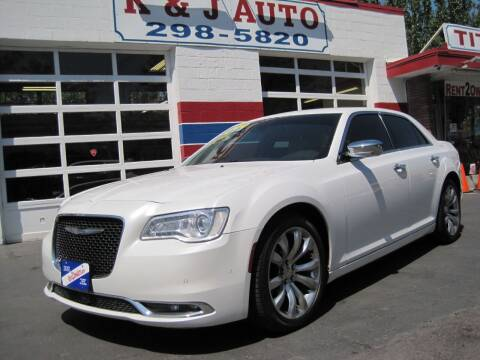 2015 Chrysler 300 for sale at K & J Auto Rent 2 Own in Bountiful UT
