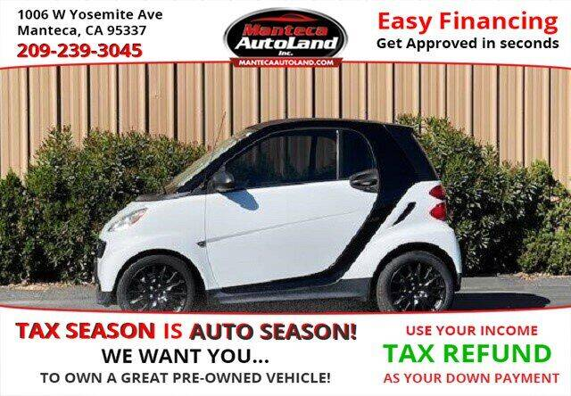 2015 Smart fortwo for sale at Manteca Auto Land in Manteca CA