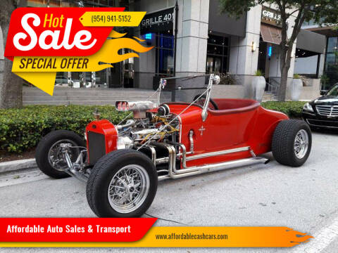1927 Ford Model T for sale at Affordable Auto Sales & Transport in Pompano Beach FL