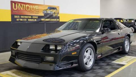 1991 Chevrolet Camaro for sale at UNIQUE SPECIALTY & CLASSICS in Mankato MN