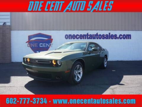 2020 Dodge Challenger for sale at One Cent Auto Sales in Glendale AZ
