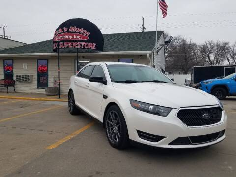 2017 Ford Taurus for sale at DICK'S MOTOR CO INC in Grand Island NE