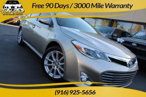 2015 Toyota Avalon for sale at West Coast Auto Sales Center in Sacramento CA