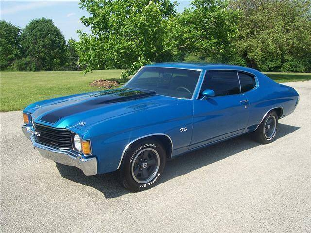 1972 Chevrolet CHEVELLE   SS for sale at Hutchys Auto Sales & Service in Loyalhanna PA