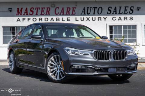 2016 BMW 7 Series for sale at Mastercare Auto Sales in San Marcos CA