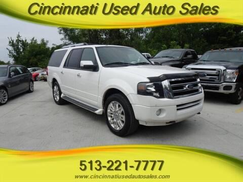 2013 Ford Expedition EL for sale at Cincinnati Used Auto Sales in Cincinnati OH