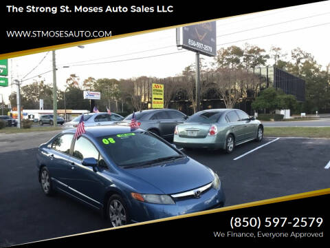 2008 Honda Civic for sale at The Strong St. Moses Auto Sales LLC in Tallahassee FL