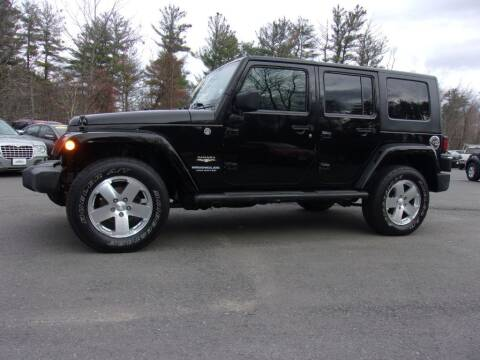 2009 Jeep Wrangler Unlimited for sale at Mark's Discount Truck & Auto Sales in Londonderry NH