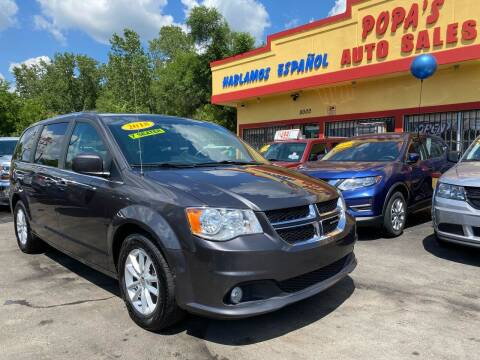 2018 Dodge Grand Caravan for sale at Popas Auto Sales in Detroit MI