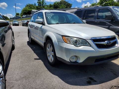 2008 Subaru Outback for sale at DISCOUNT AUTO SALES in Johnson City TN