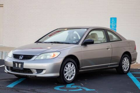2005 Honda Civic for sale at Carland Auto Sales INC. in Portsmouth VA
