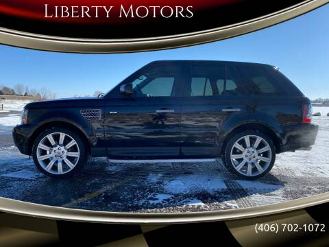 2007 Land Rover Range Rover Sport for sale at Liberty Motors in Billings MT