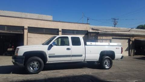 2004 Chevrolet Silverado 2500HD for sale at Vehicle Center in Rosemead CA