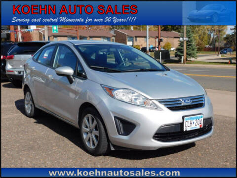 2012 Ford Fiesta for sale at Koehn Auto Sales in Lindstrom MN