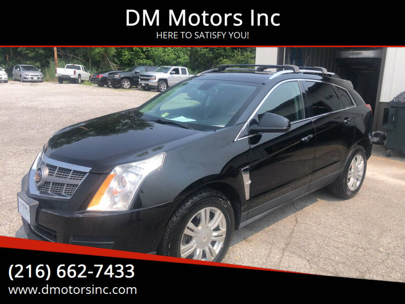 2011 Cadillac SRX for sale at DM Motors Inc in Maple Heights OH