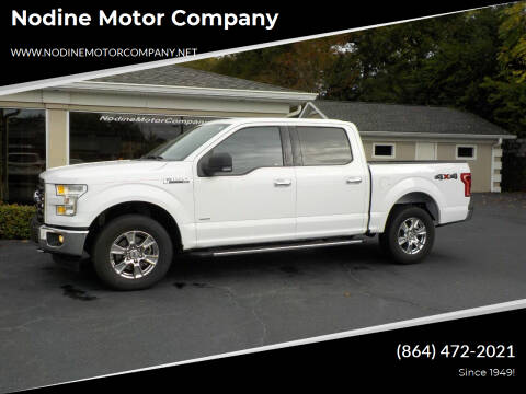 2017 Ford F-150 for sale at Nodine Motor Company in Inman SC