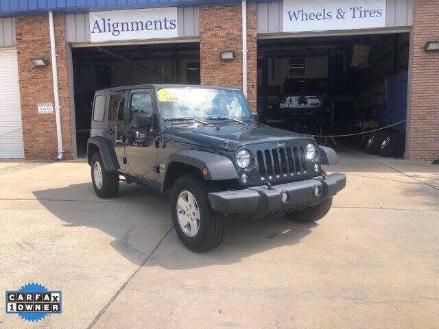 2018 Jeep Wrangler JK Unlimited for sale at Wilson Autosports LLC in Fort Walton Beach FL