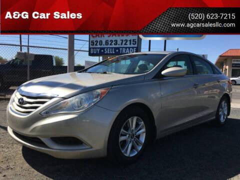 2011 Hyundai Sonata for sale at A&G Car Sales  LLC in Tucson AZ