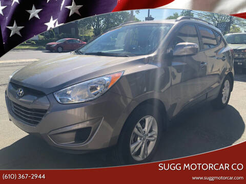 2012 Hyundai Tucson for sale at Sugg Motorcar Co in Boyertown PA