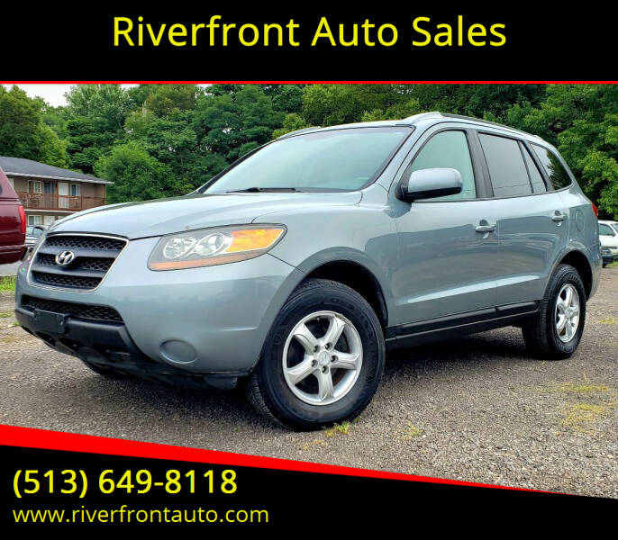2007 Hyundai Santa Fe for sale at Riverfront Auto Sales in Middletown OH