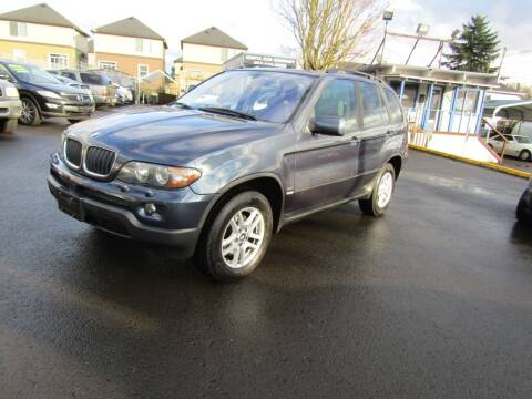 2004 BMW X5 for sale at ARISTA CAR COMPANY LLC in Portland OR