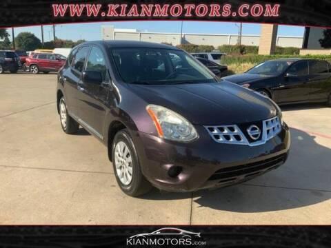 2013 Nissan Rogue for sale at KIAN MOTORS INC in Plano TX