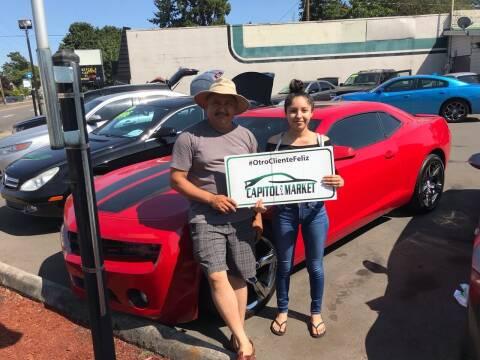 2011 Chevrolet Camaro for sale at Salem Auto Market in Salem OR