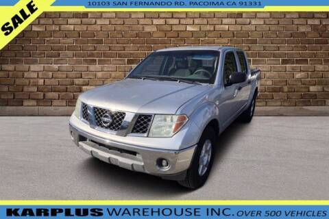 2006 Nissan Frontier for sale at Karplus Warehouse in Pacoima CA