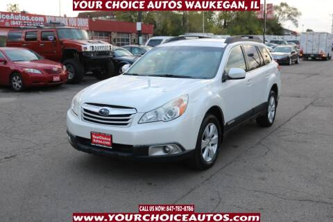 2010 Subaru Outback for sale at Your Choice Autos - Waukegan in Waukegan IL