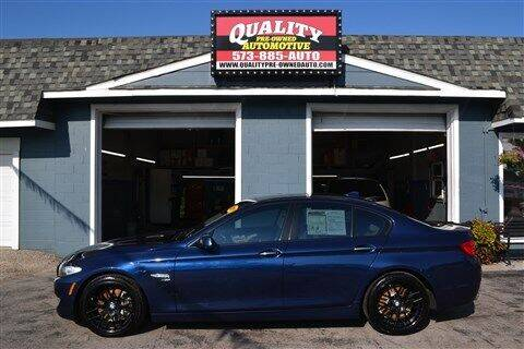 2011 BMW 5 Series for sale at Quality Pre-Owned Automotive in Cuba MO