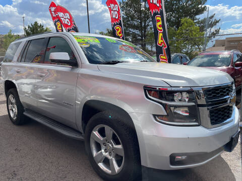 2015 Chevrolet Tahoe for sale at Duke City Auto LLC in Gallup NM