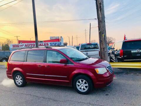 2010 Chrysler Town and Country for sale at Big Three Auto Sales Inc. in Detroit MI