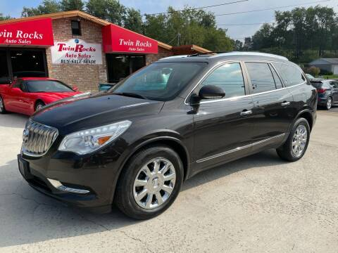 2014 Buick Enclave for sale at Twin Rocks Auto Sales LLC in Uniontown PA