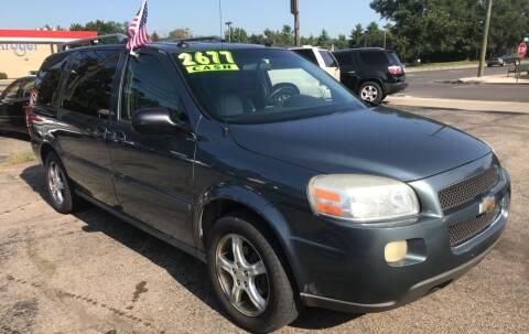 2005 Chevrolet Uplander for sale at Klein on Vine in Cincinnati OH