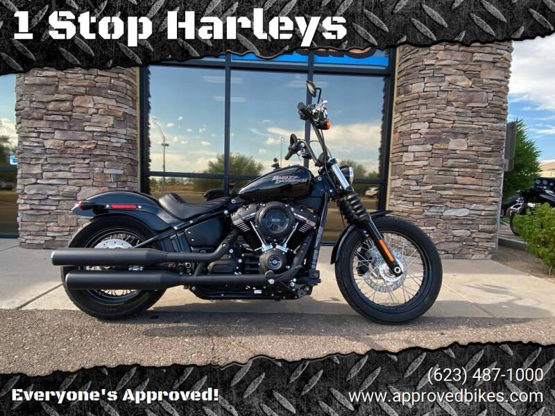2018 Harley Davidson FXBB Street Bob for sale at 1 Stop Harleys in Peoria AZ