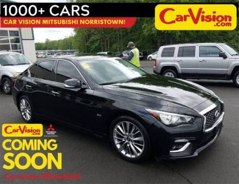 2018 Infiniti Q50 for sale at Car Vision Buying Center in Norristown PA