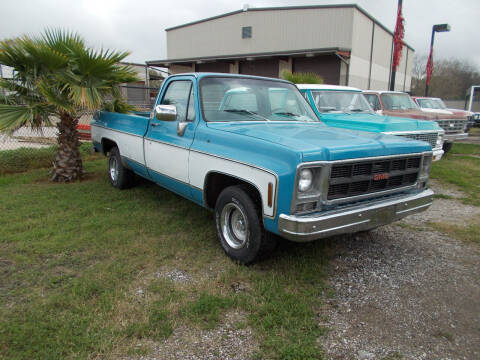 1977 GMC Sierra 1500HD Classic for sale at MOTION TREND AUTO SALES in Tomball TX