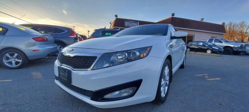 2013 Kia Optima for sale at Central 1 Auto Brokers in Virginia Beach VA
