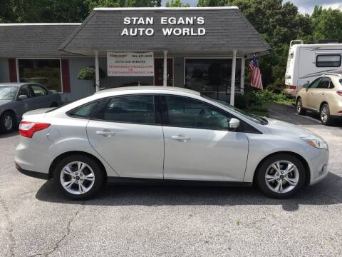 2013 Ford Focus for sale at STAN EGAN'S AUTO WORLD, INC. in Greer SC