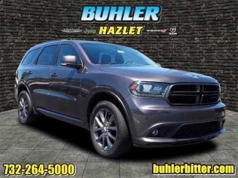 2017 Dodge Durango for sale at Buhler and Bitter Chrysler Jeep in Hazlet NJ