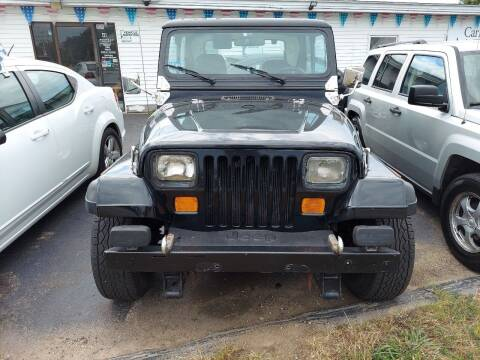 1987 Jeep Wrangler for sale at Plaistow Auto Group in Plaistow NH